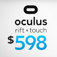 Rift And Touch Price Drop