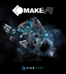 MakeVR Launches On Viveport Today