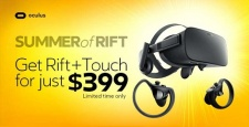 Oculus' Amazing Rift And Touch Summer Sale