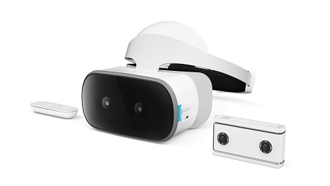 Lenovo debuts the Mirage Solo, its standalone Daydream VR headset