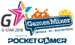 G-STAR Games Mixer (mobile, PC & blockchain) in association with Merculet & Laya.one @ Gamescom 2018 – presented by Pocket Gamer